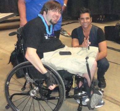 John Stamos Helps a Fan Feel