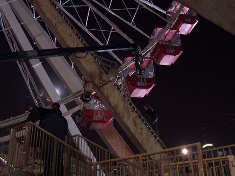 Go Behind the Scenes of 'Divergent's' Epic Ferris Wheel Scene with Shailene Woodley