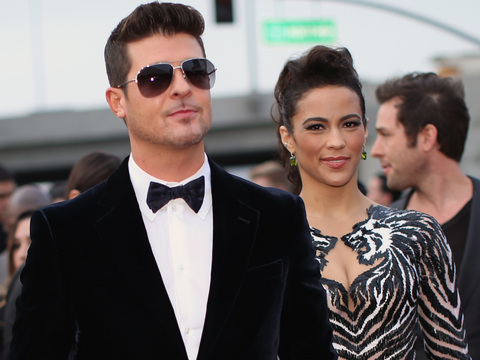 Is It Really Over? Robin Thicke & Paula Patton Selling Hollywood Hills Home