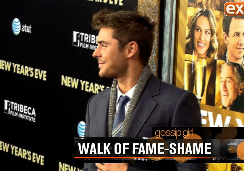 Gossip Girl: Look Who Is Doing the Walk of 'Fame-Shame'