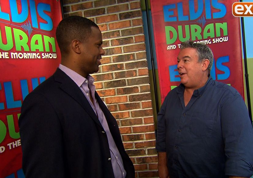 'Extra' Goes Behind the Scenes of 'Elvis Duran and the Morning Show'