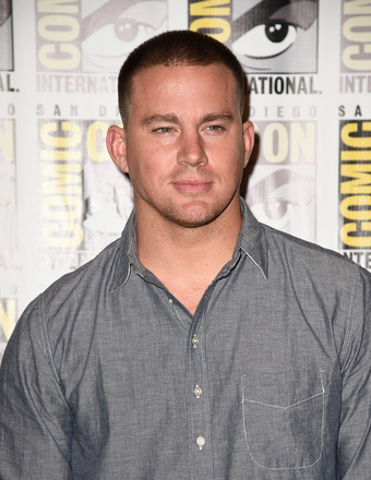 Channing Tatum attended the 2014 Comic-Con... see more pics from the Con!