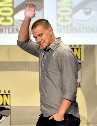 channing tatum 340x440 Comic Con 2014 Live Blog! Game of Thrones Casting, Walking Dead Trailer and More!