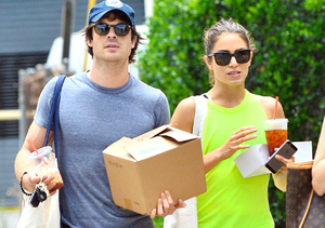 New Couple Alert! Ian Somerhalder Is Dating Nikki Reed