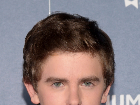 Freddie Highmore Gets Animated About 'Justin' and Norman Bates