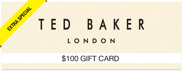 Win It! A $100 Gift Card to Ted Baker London
