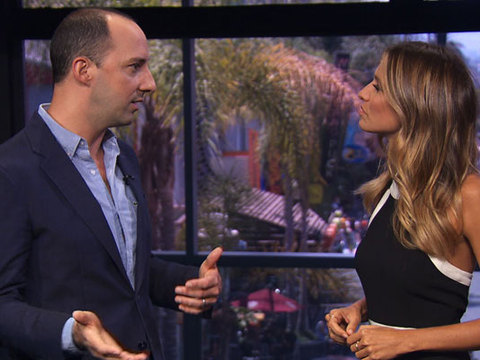 Tony Hale Stands Up to Cancer, Talks Emmy Nom and TV Binge-Watching
