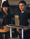 Video! Zac Efron and Michelle Rodriguez's Hot Makeout Session in Ibiza