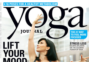 Hilaria Baldwin's Mind-Bending Pose for Yoga Journal