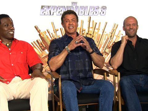 'The Expendables 3' Cast Pick Their Favorite Actresses for 'Expendabelles' Spinoff