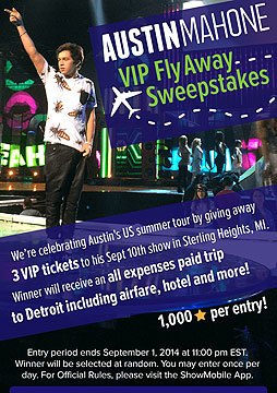 You Can Win VIP Tickets to See Austin Mahone in Concert!