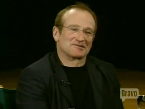 Video: Robin Williams Talks About Heaven with James Lipton