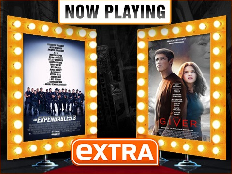 Now Playing Live Movie Reviews: 'Expendables 3' vs. 'The Giver'