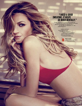 Health September 2014 Erin Andrews Feature