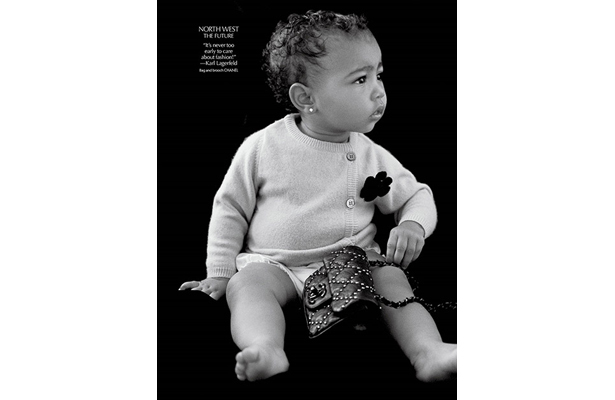 Too Cute! North West Makes Modeling Debut