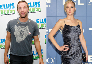 New Couple Alert! Chris Martin Linked to Jennifer Lawrence
