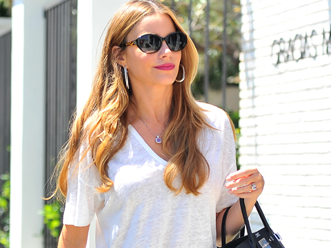 Sofia Vergara Spotted Wearing Giant Sparkler! Is She Engaged to Joe Manganiello?