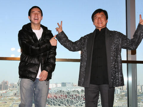 Jackie Chan Responds to Son's Drug Arrest