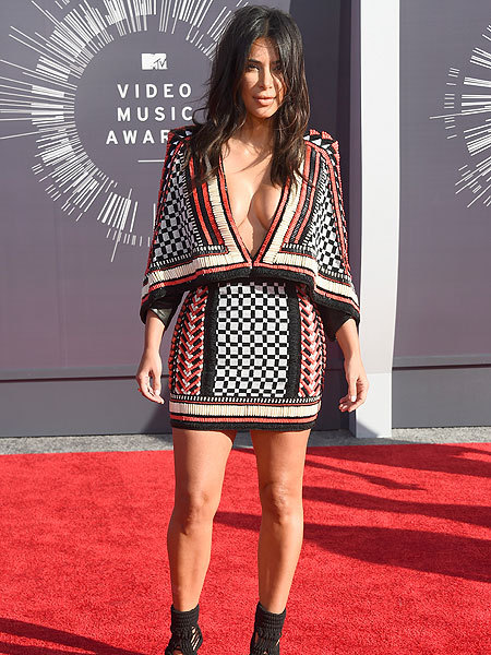 You'll Never Believe What Kim K Wore to the VMAs!