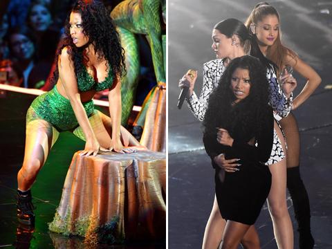 2014 VMA Moments: Nicki Minaj, Ariana Grande, Taylor Swift and More!