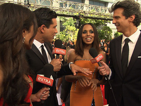 Emmys 2014: 'Extra' on the Red Carpet