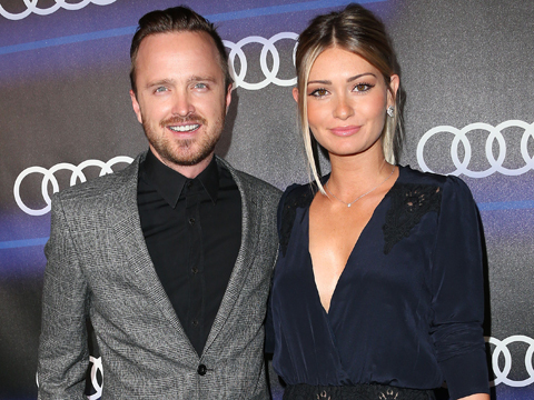 aaron paul lauren 480x360 Aaron Pauls Wife Lauren Talks Kind Campaign