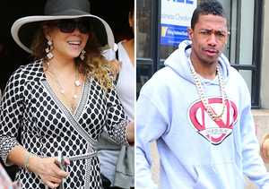 Mariah Carey All Smiles in NYC, Despite Divorce Crisis