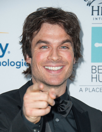 Ian Somerhalder: 'I Couldn't Be Happier If I Tried!'