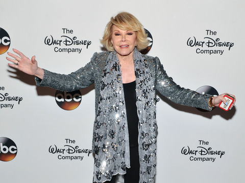 Stars Send Joan Rivers Well Wishes