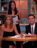Jennifer Aniston and 'Friends' Reunite to Read Fan Fiction on Kimmel