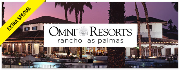 Win It! A Trip to Omni Rancho Las Palmas Resort & Spa in Palm Springs