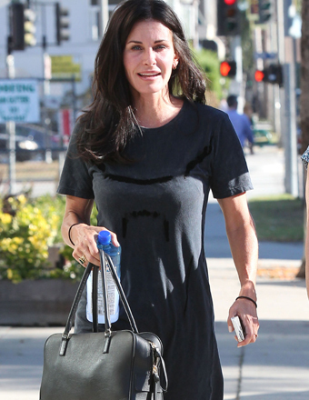 Courteney Cox was spotted on a stroll in West Hollywood.