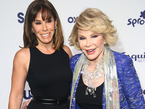 Joan Rivers 'Resting Comfortably' Following Medical Scare