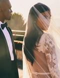 Kim K Posts Stunning, Never-Before-Seen Wedding Photo