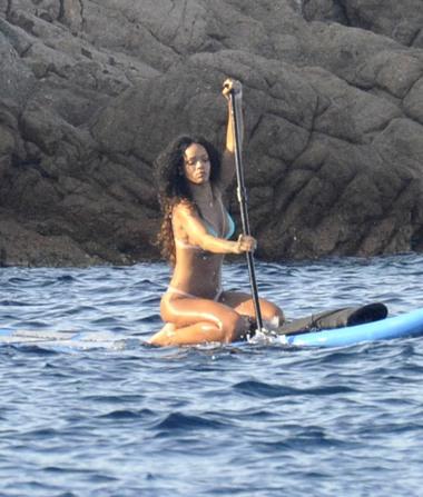 Rihanna's Bikini Pics While on Her Italian Vacation