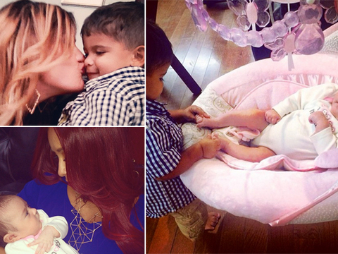 Snooki's Son Playing with JWoww's Daughter Is the Cutest Thing Ever!