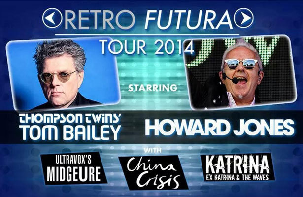 'Extra' Chats with Headliners of Retro Futura Tour