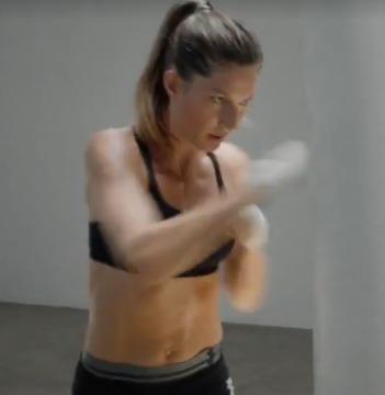 Video! Gisele Bündchen Sweats for Under Armour