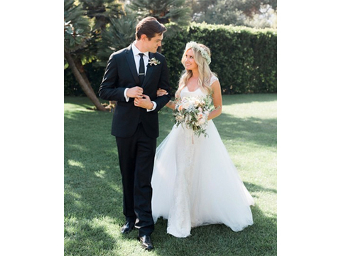 Ashley Tisdale and Christopher French Are Married! See Her Wedding Dress