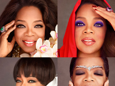 Oprah on Shooting Four Separate Covers for October's O Magazine