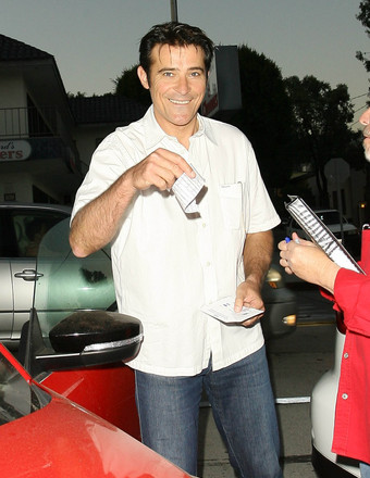 """""""Extant"""" actor Goran Visnjic received a parking ticket while in West Hollywood."""