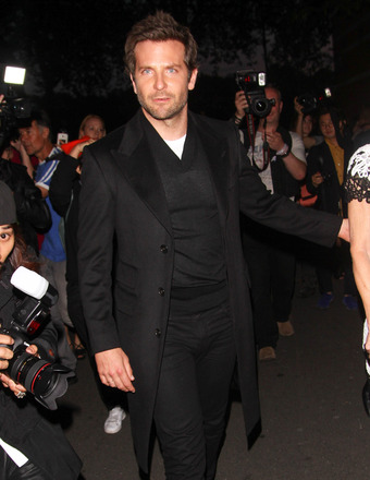 Bradley Cooper was bombarded by fans and press while enjoying a night out in London.