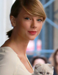 Taylor Swift Takes Cat for a Walk, and It's Adorable