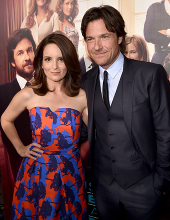 "Tina Fey and Jason Bateman hit the red carpet at the ""This Is Where I Leave You"" premiere in Hollywood."