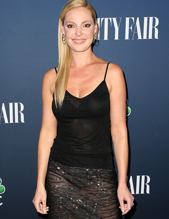 Katherine Heigl attended an NBC and Vanity Fair party at Hyde in West Hollywood.