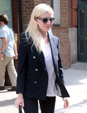 Kirsten Dunst was spotted on a stroll in NYC.