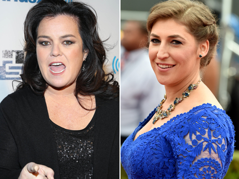 'Frozen' Feud? Rosie O'Donnell Fires Back at Mayim Bialik