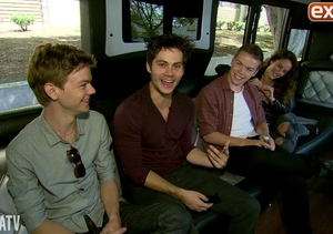 'The Maze Runner' Cast Makes a Pit Stop at In-N-Out Burger