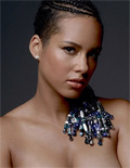 Alicia Keys Promotes Peace with Nude Pregnancy Pic