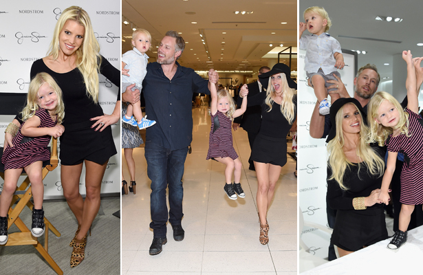 Pics! Jessica Simpson's Adorable Kids Steal the Spotlight at Fashion Show